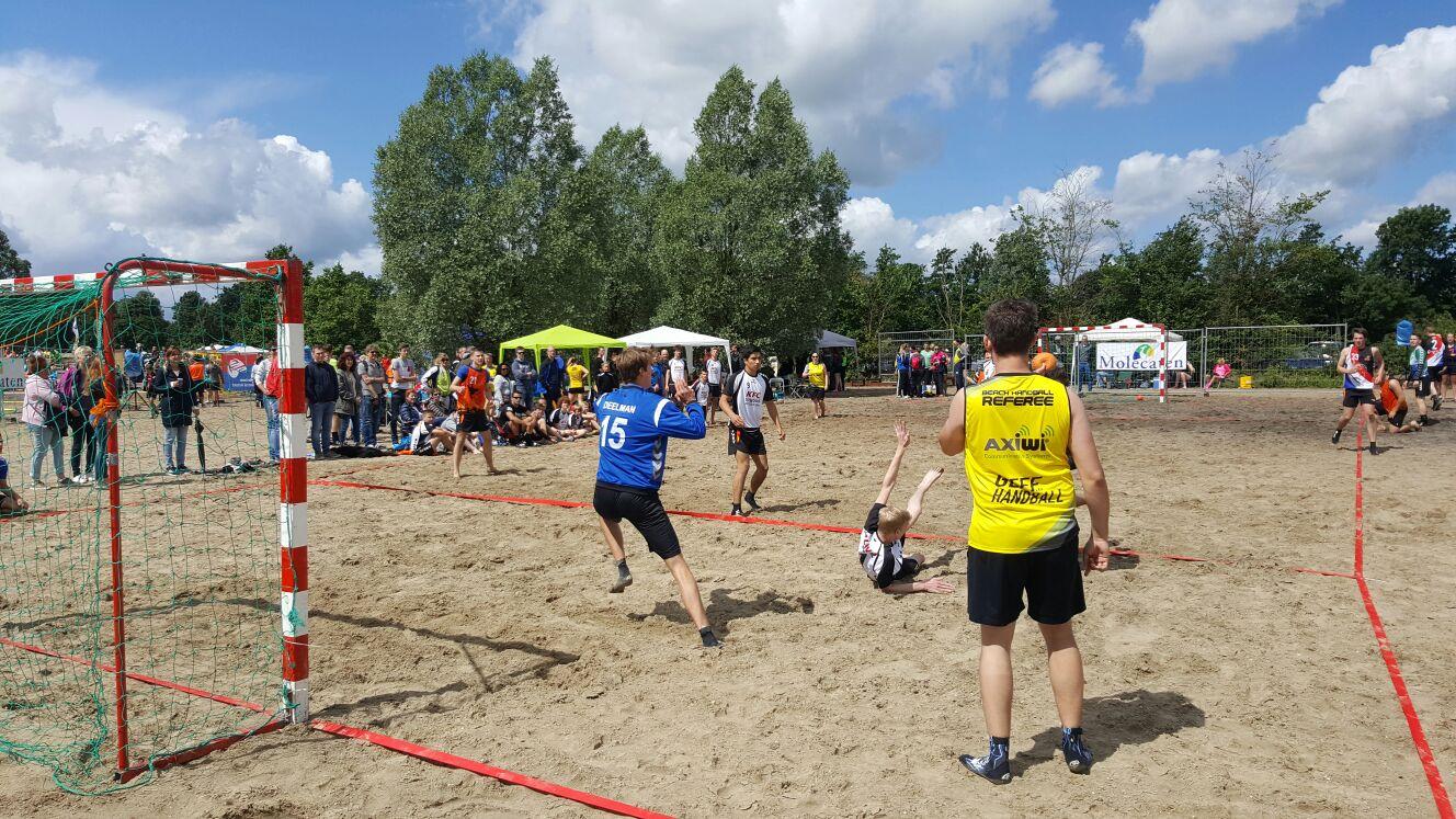 /wireless-communication-system-beach-handball-dutch-championship-axiwi
