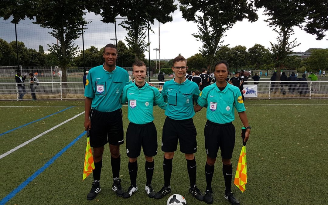 Dutch referees working with AXIWI during Paris World Games 2017
