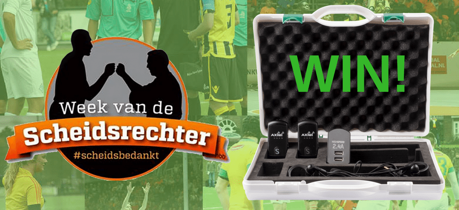 Facebook Action: Your favourite referees can win an AXIWI kit!