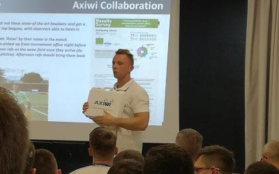 Axitour Communication Solutions and Tournaments Abroad starting partnership to equip referees and observers