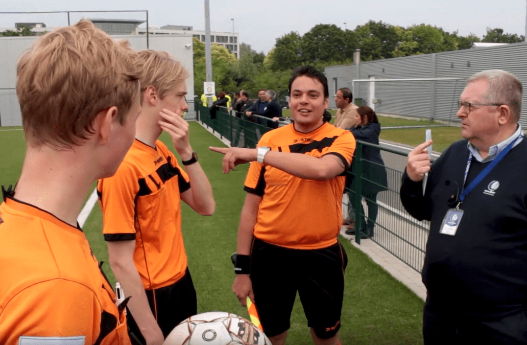 The benefits of using headsets in your referee academy