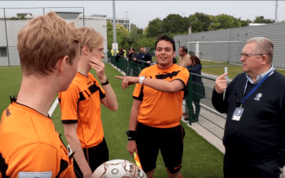 KAA GENT REFEREE ACADEMY INNOVATES WITH AXIWI