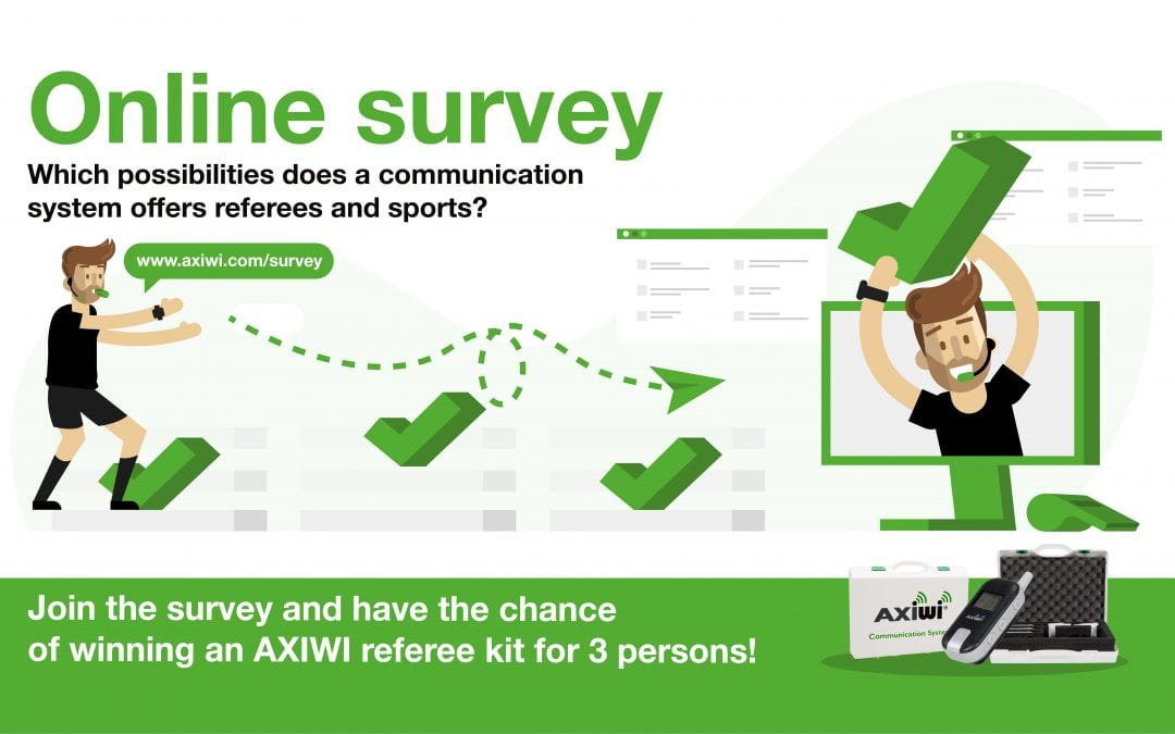 Join the survey for referees and umpires and have a chance of winning a referee kit