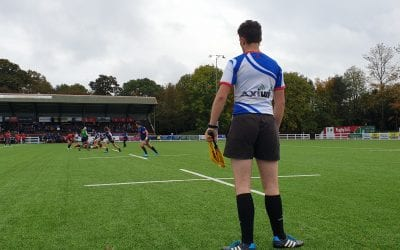7s Referees working with AXIWI at Athlete Factory International Sevens