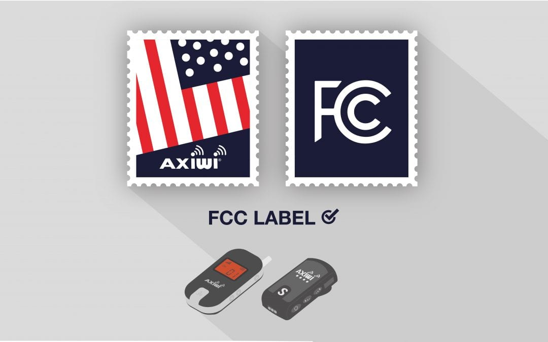 AXIWI officially certified for the United States of America with FCC label