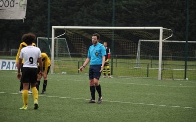 Referee tips during COVID-19 of Belgian soccer referee Mitch Das