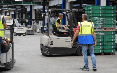 Technische Unie professionalises staff training with AXIWI headsets for warehouse logistics in accordance to RIVM Covid-19 guidelines