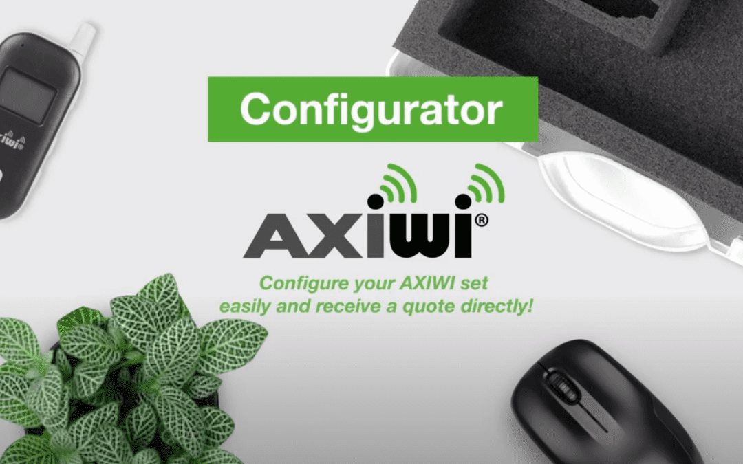 with the axiwi configurator you configure your axiwi set easily